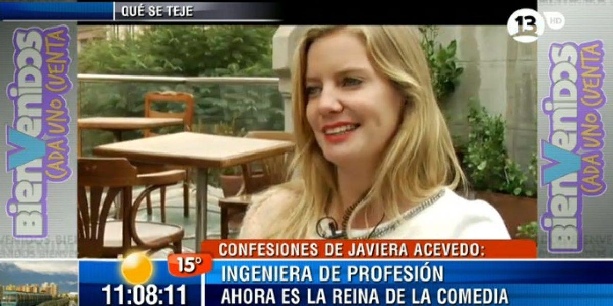 Javiera Acevedo se confiesa y habla de su relación con Mario Horton