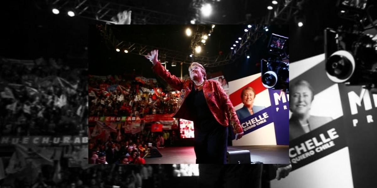 Discurso reformista marca proclamación de candidatura de Michelle Bachelet