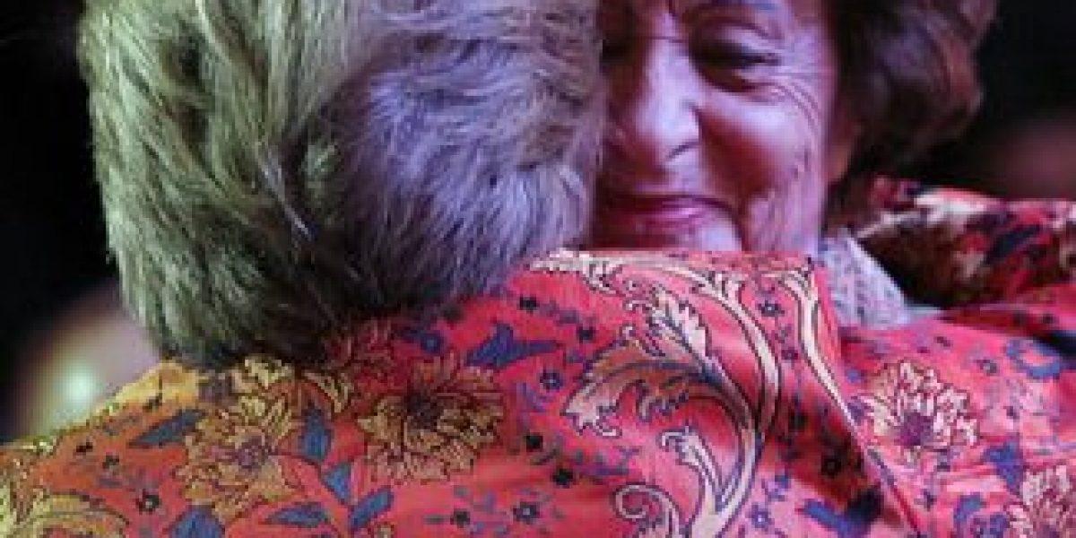 [GALERÍA] Así se vive la proclamación de Michelle Bachelet en el Caupolicán