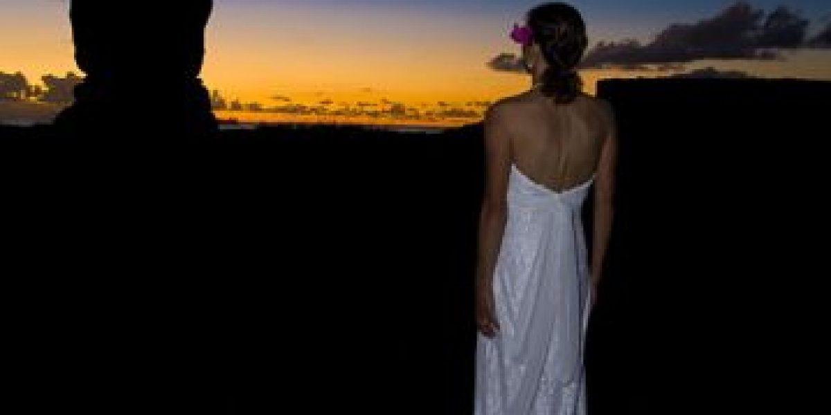 Retrata a su pareja vestida de novia por el mundo e incluye Isla de Pascua