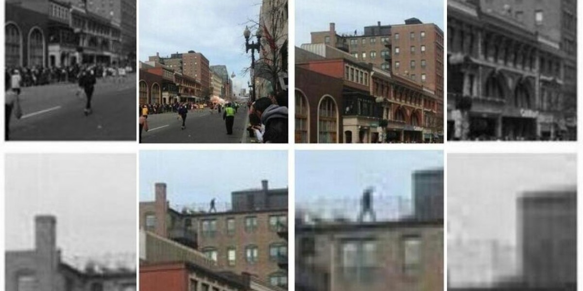 Explosiones en Boston: Circula imagen de sospechoso en la azotea de un edificio