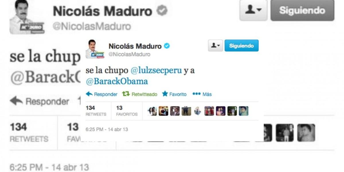 Twitter: Hackean cuenta de Nicolás Maduro en jornada clave para Venezuela