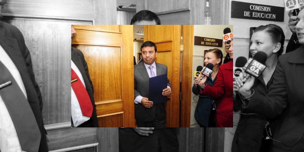 Diputados: Suspenden a Pedro Velásquez y le sugieren renunciar a vicepresidencia