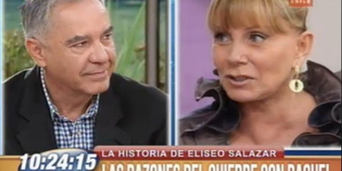 Los coqueteos de Eliseo Salazar y Raquel Argandoña en BDAT