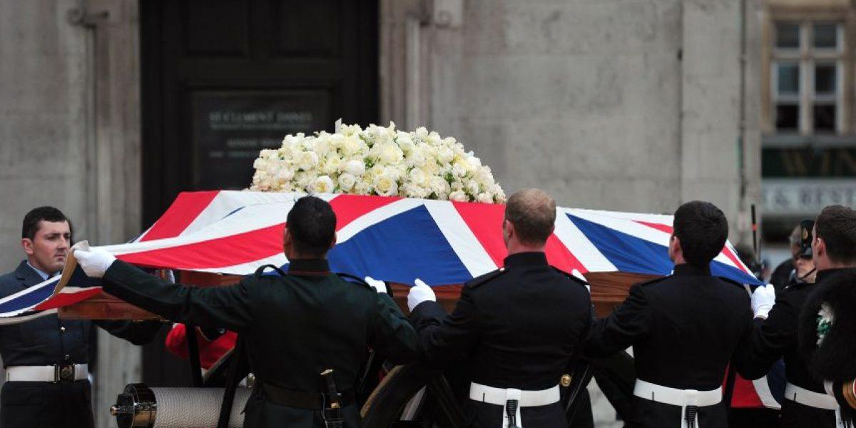 [FOTOS] Comienza la ceremonia del funeral de Margaret Thatcher en San Pablo