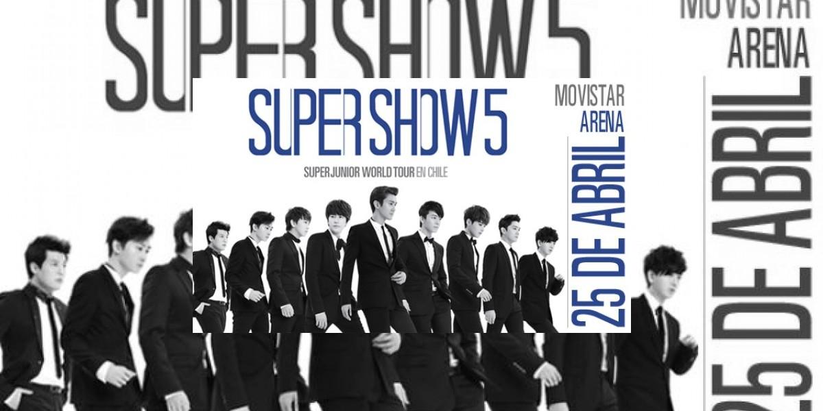 Samsung entregará 100 entradas para Super Junior  y sorteará 10 pases Vip al show