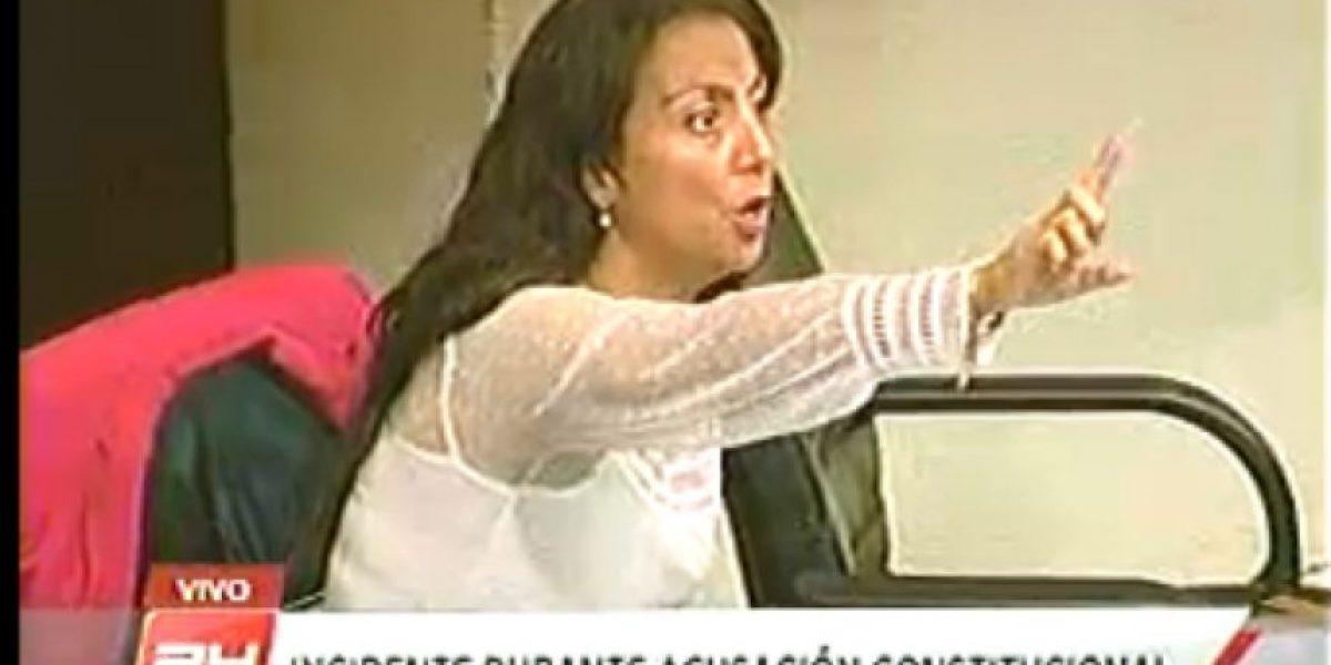 Fuerte altercado en el Senado por supuesto insulto de ministra Pérez a Alejandro Navarro