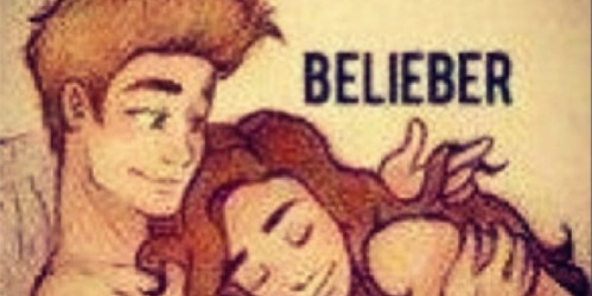 Justin Bieber publica un dibujo de él con una fan en la cama