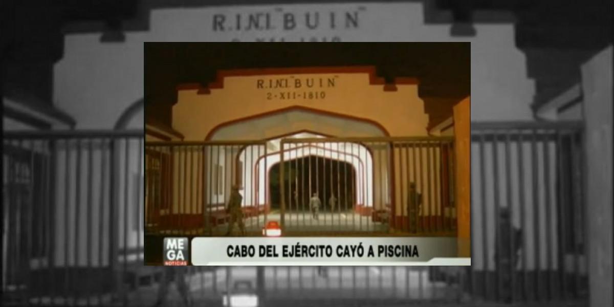 Investigan extraña muerte de oficial militar en piscina del Regimiento Buin