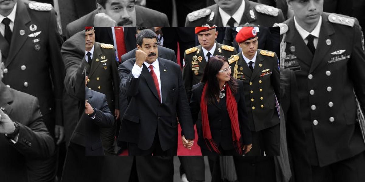 Nicolás Maduro, investido presidente de Venezuela