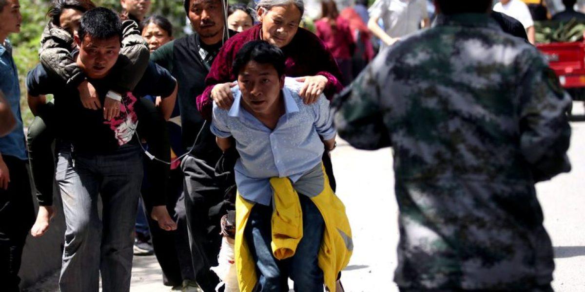 [FOTOS] Destrucción y dolor dejó el terremoto que afectó a China