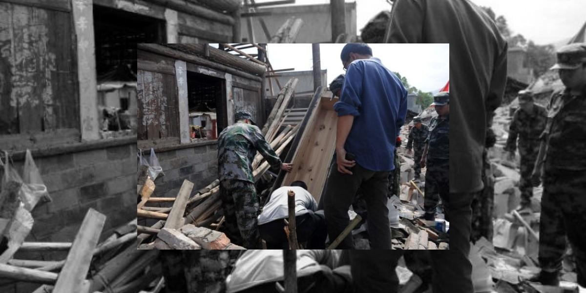 Aumenta a 152 el número de muertos y a más de 5.500 heridos en China tras el terremoto