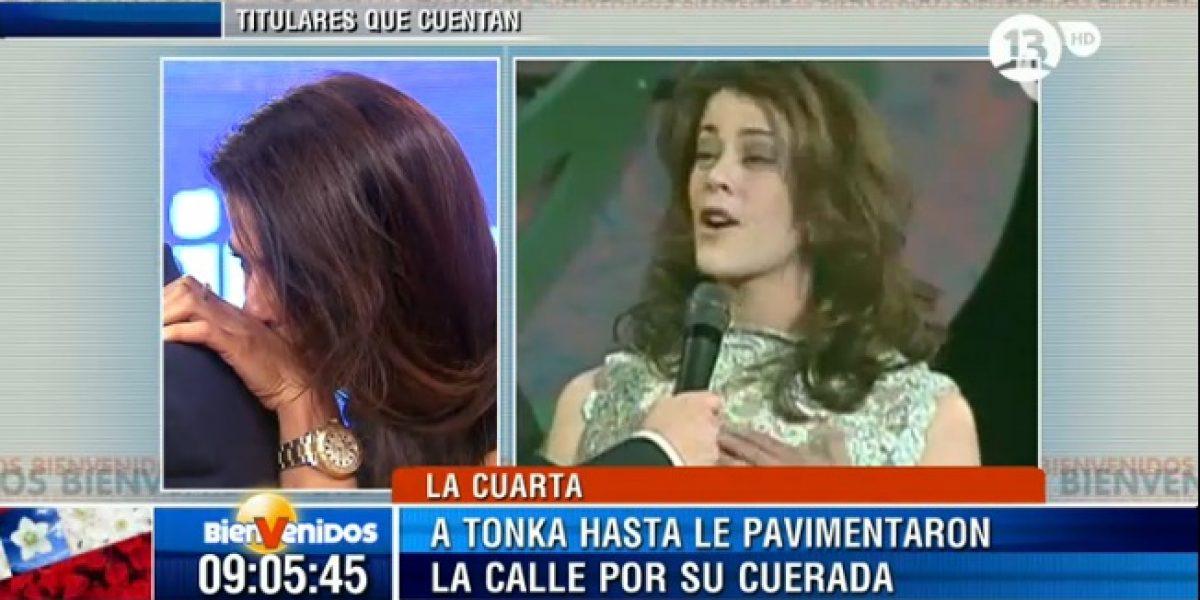 Tonka muere de vergüenza al recordar su paso por el Miss Chile