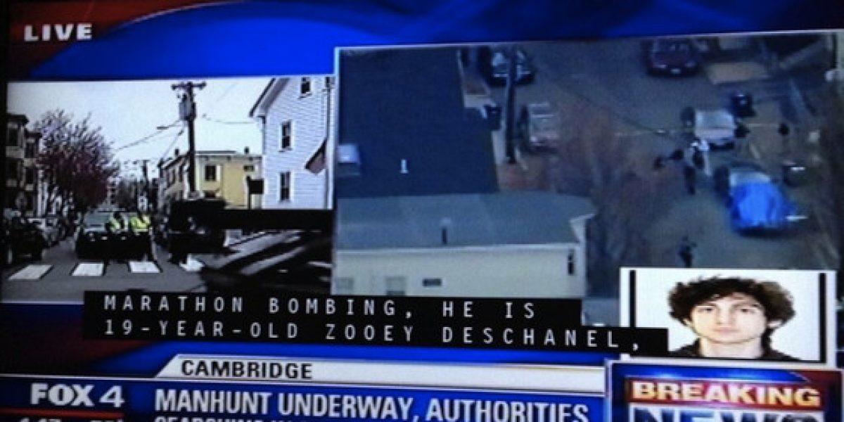 Confunden a Zooey Deschanel con uno de los terrorista tras ataque de Boston