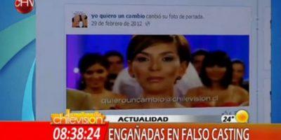 """Hacen falso casting por internet para """"Yo quiero un cambio"""" de CHV"""