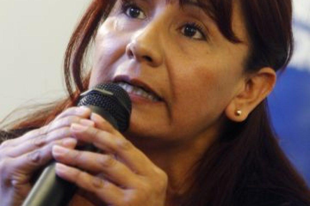 Roxana Miranda, la dirigenta. Imagen Por:
