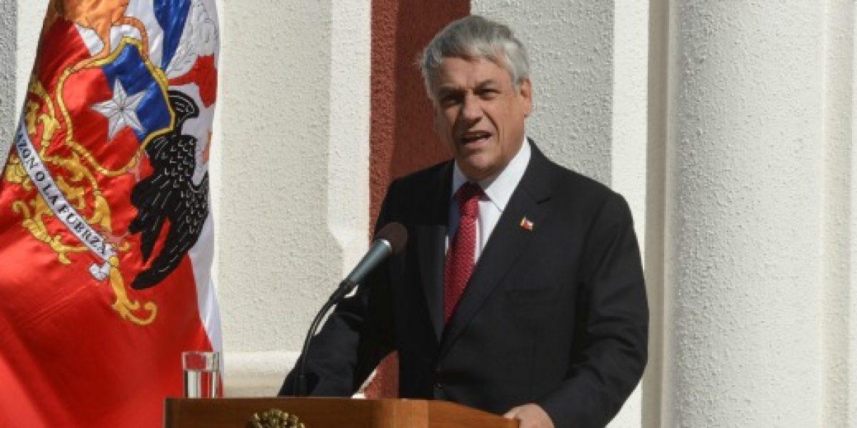 Piñera y caída del precio del cobre: