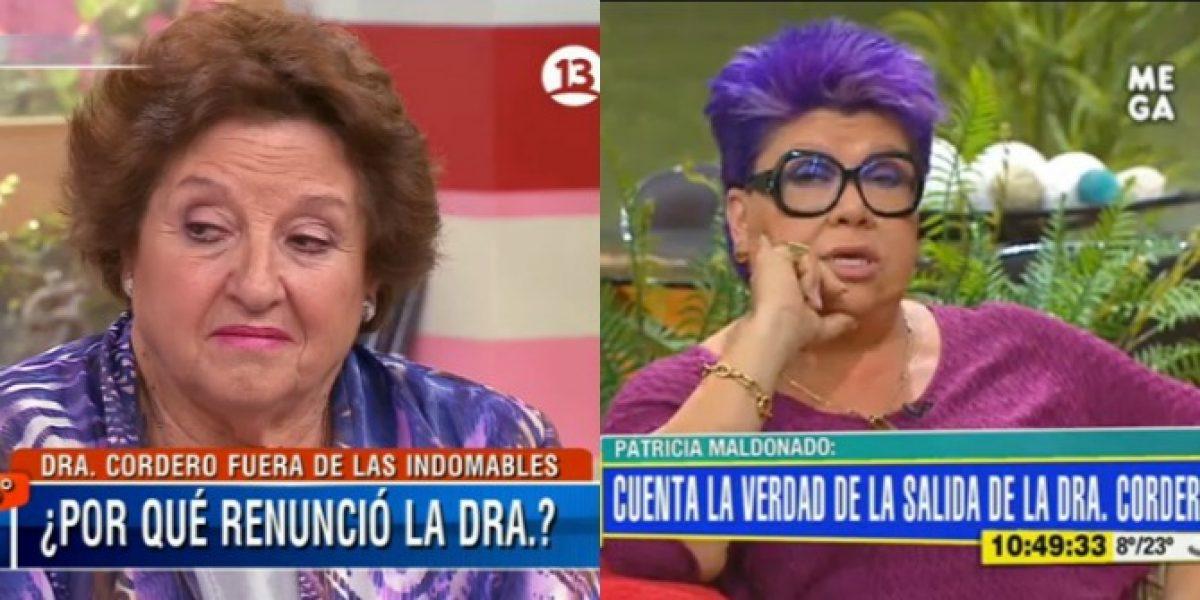Matinales de Mega y Canal 13 se enfrentan en vivo por pelea de