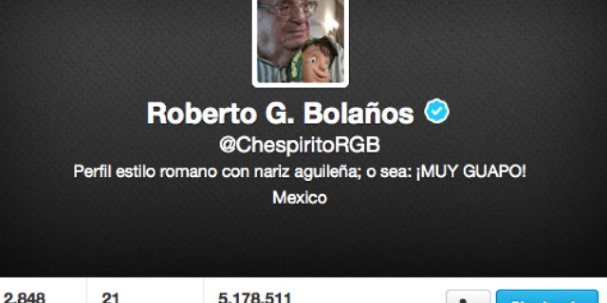 Hackean la cuenta de Twitter del comediante Chespirito
