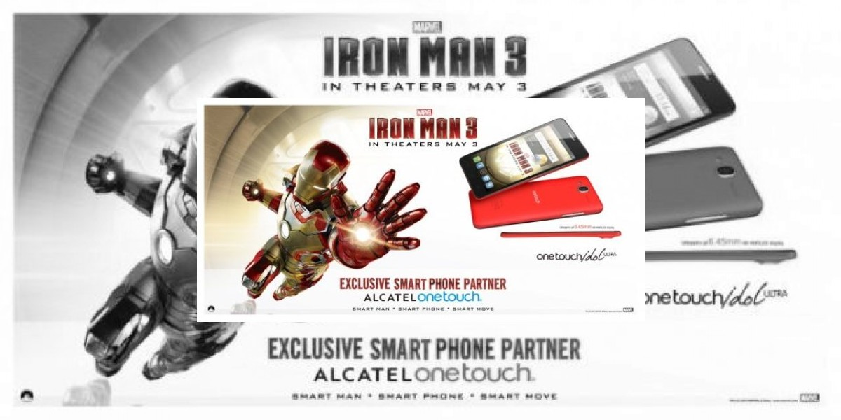 Alcatel One Touch se une con Iron Man 3de Marvel