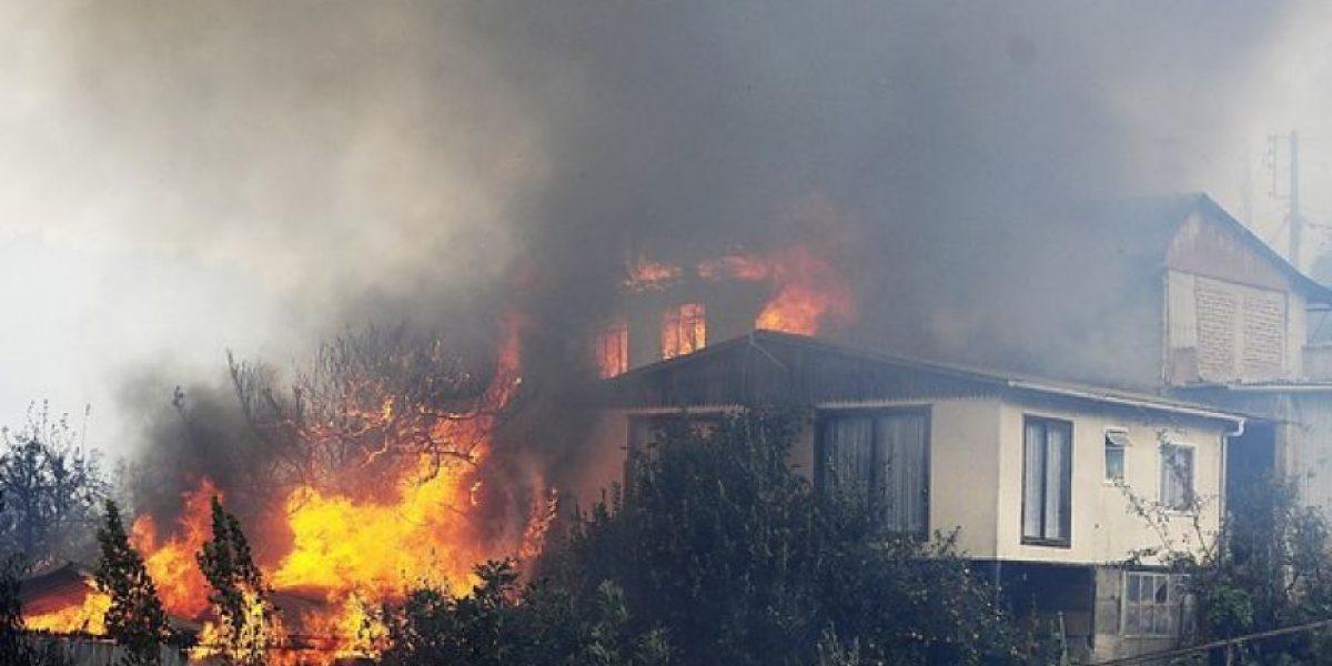 [FOTOS] Arde Valparaíso: Impactantes imágenes del incendio