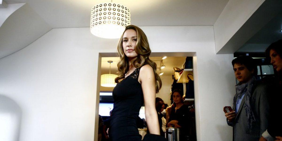 Hasta Kenita Larraín llegó a exclusivo desfile de modas