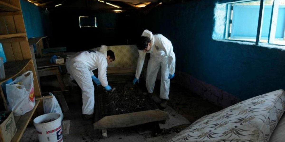 PDI muestra imágenes del lugar donde funcionaba la secta de Quilpué
