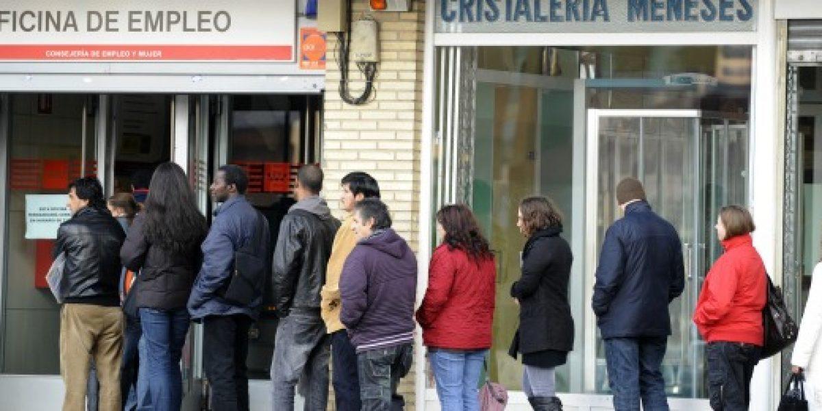 Nuevo récord: desempleo en España llegó al 27,16% el primer trimestre