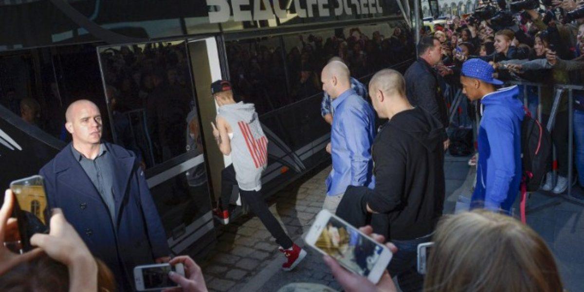 Policía sueca incauta droga en autobús de Justin Bieber