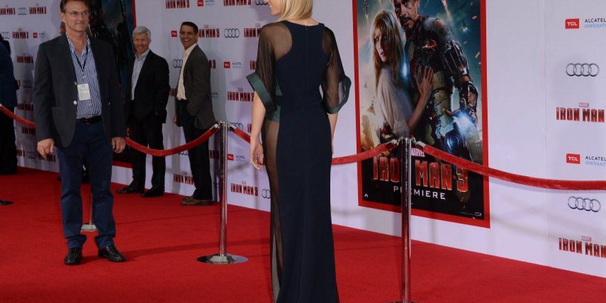 Gwyneth Paltrow luce osada y elegante transparencia en premiere de