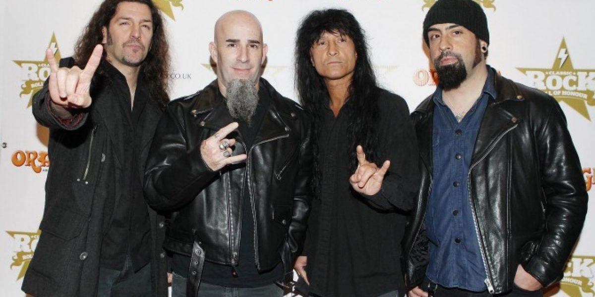 Confirmado: Anthrax grabará el show en Chile para su DVD