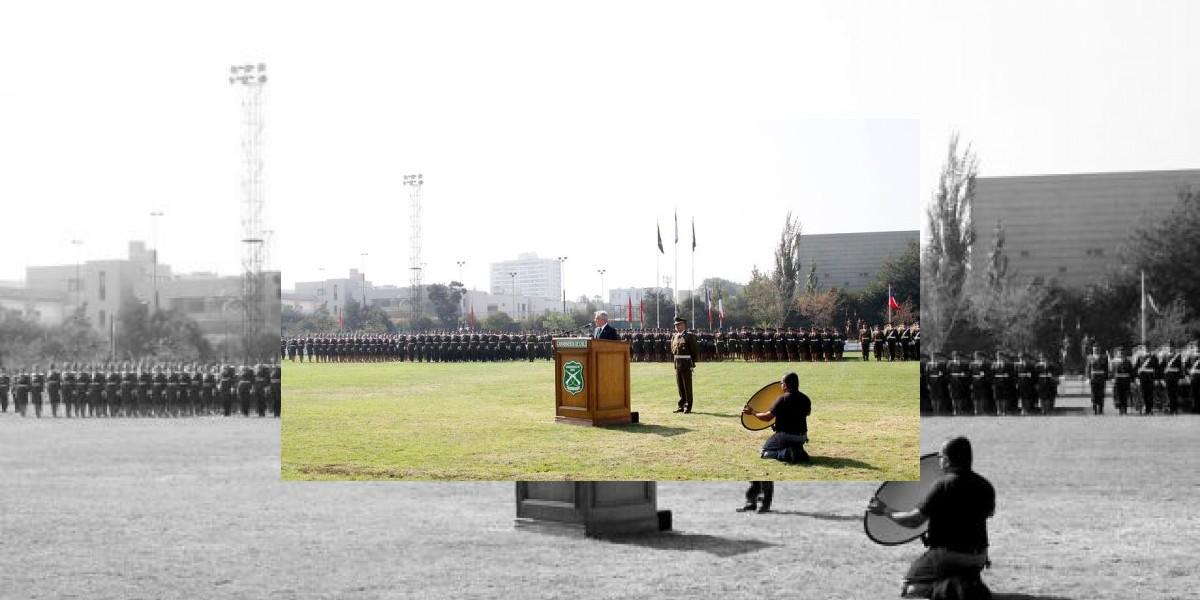 Presidente Piñera encabezó ceremonia de aniversario de Carabineros