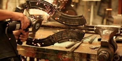 Armas son convertidas en instrumentos musicales en México