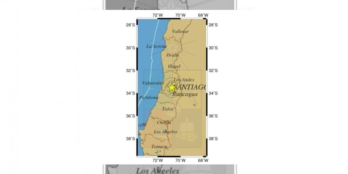 Sismo de 5.0 grados de magnitud se registra en Zona Central y sur del país