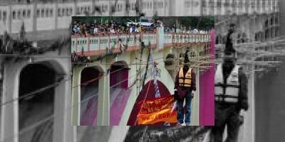 Indio muere colgado de un cable al intentar batir su propio récord Guinness