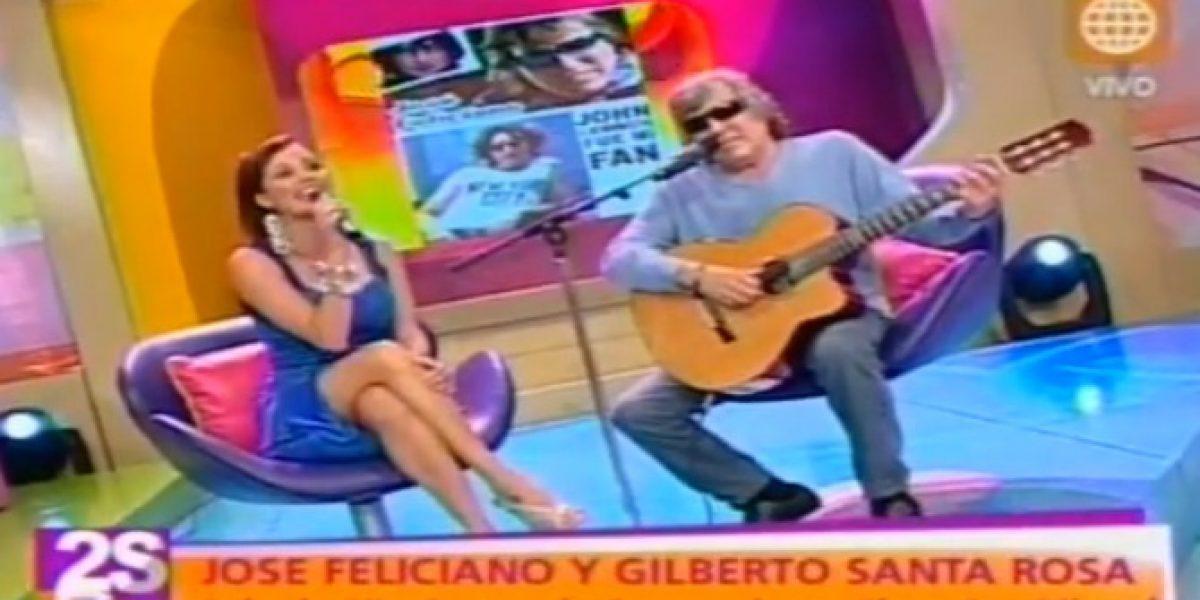 Revuelo causa en Perú desafortunada pregunta a José Feliciano en programa de TV