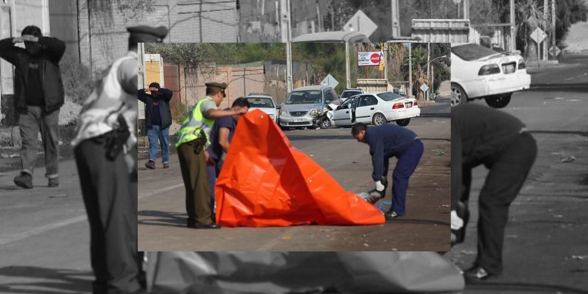 Atropello en Arica deja dos personas muertas y 19 heridos