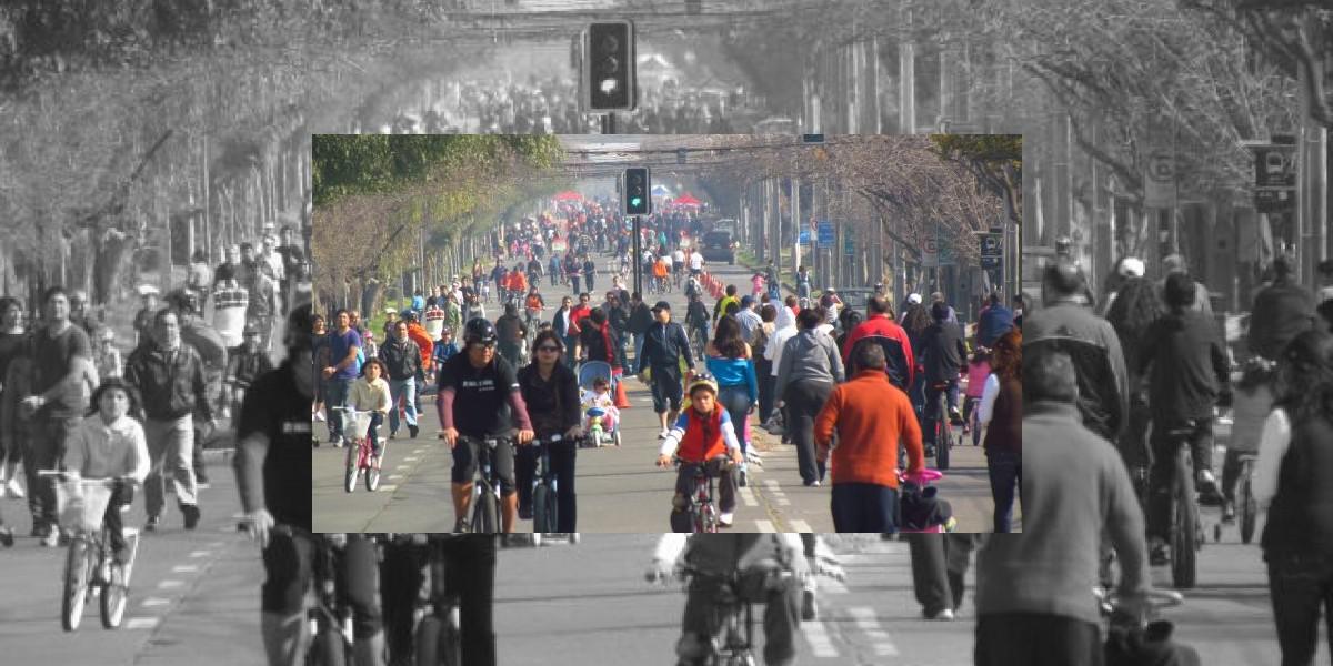 CicloRecreoVía: El mayor evento deportivo y recreativo del país llega a Providencia