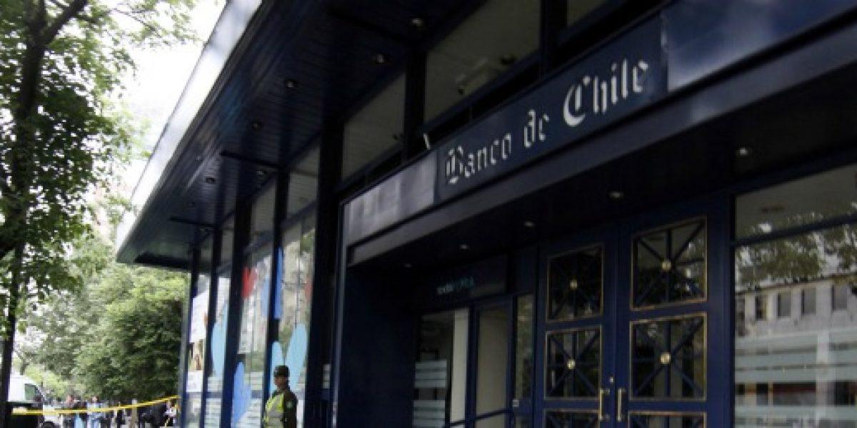 Bancos chilenos obtuvieron ganancias por más de $380 mil millones en primer trimestre de 2013