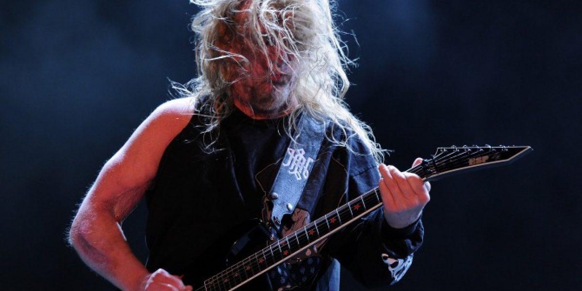 Muere guitarrista Jeff Hanneman de Slayer