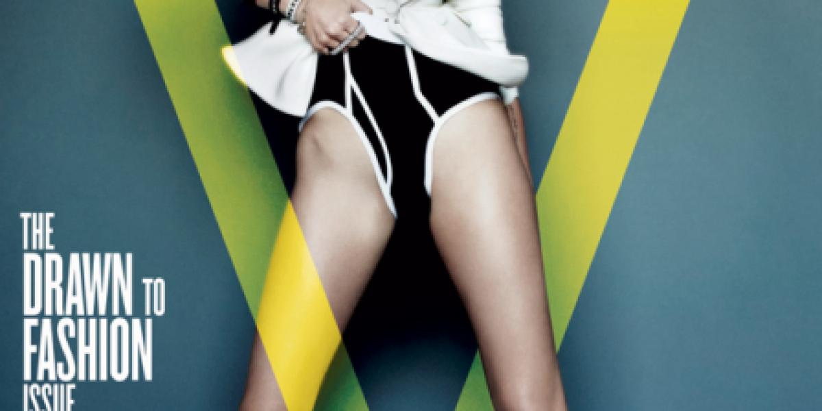 La sensual y osada sesión de fotos de Miley Cyrus para VMagazine