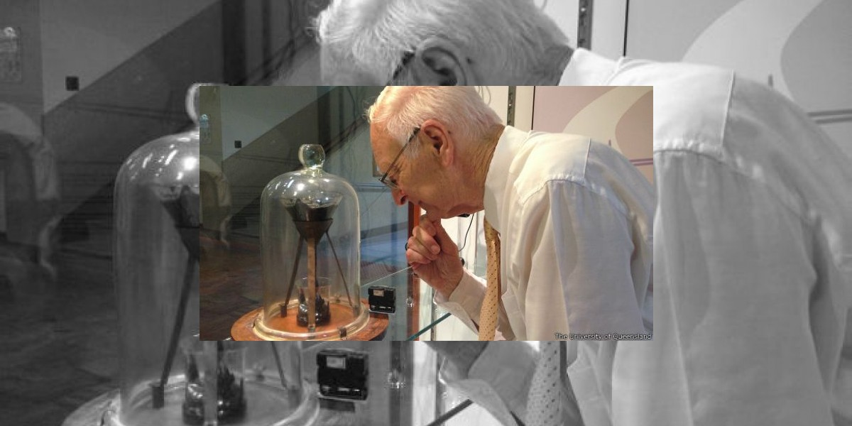 Suspenso en el experimento más antiguo del mundo