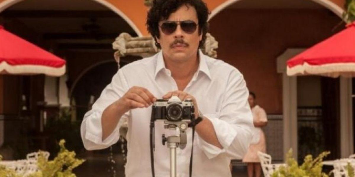 Aparecen primeras imágenes de Benicio del Toro como Pablo Escobar