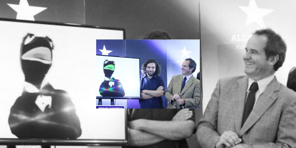 El hijo de Andrés Chadwick detrás del video de Allamand