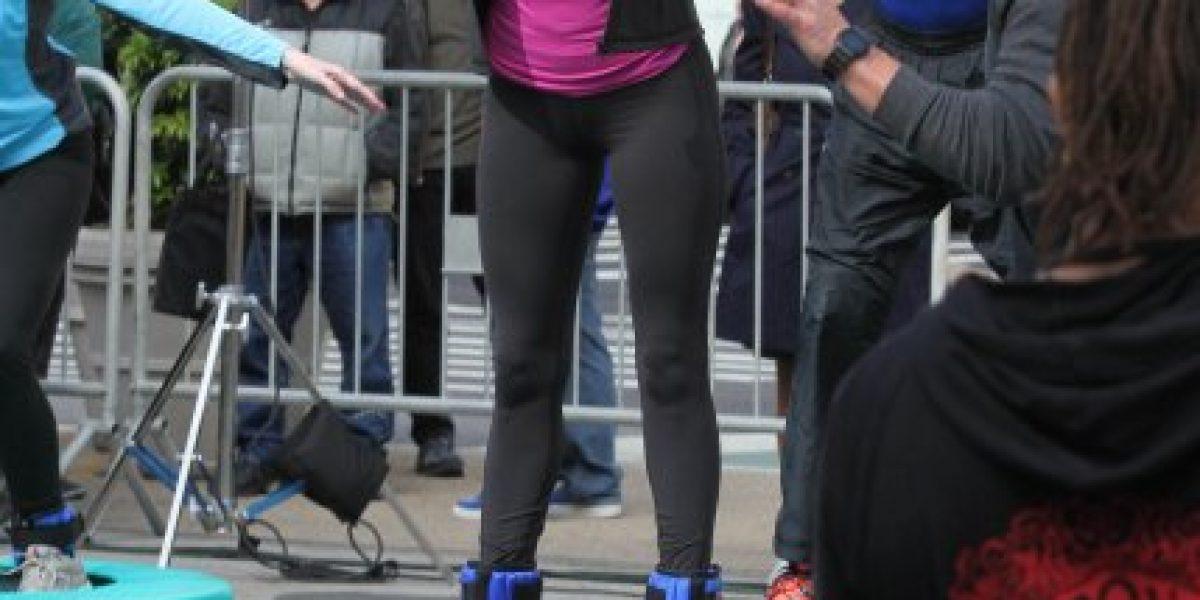Así luce Megan Fox como April O´Neill en el set de rodaje de