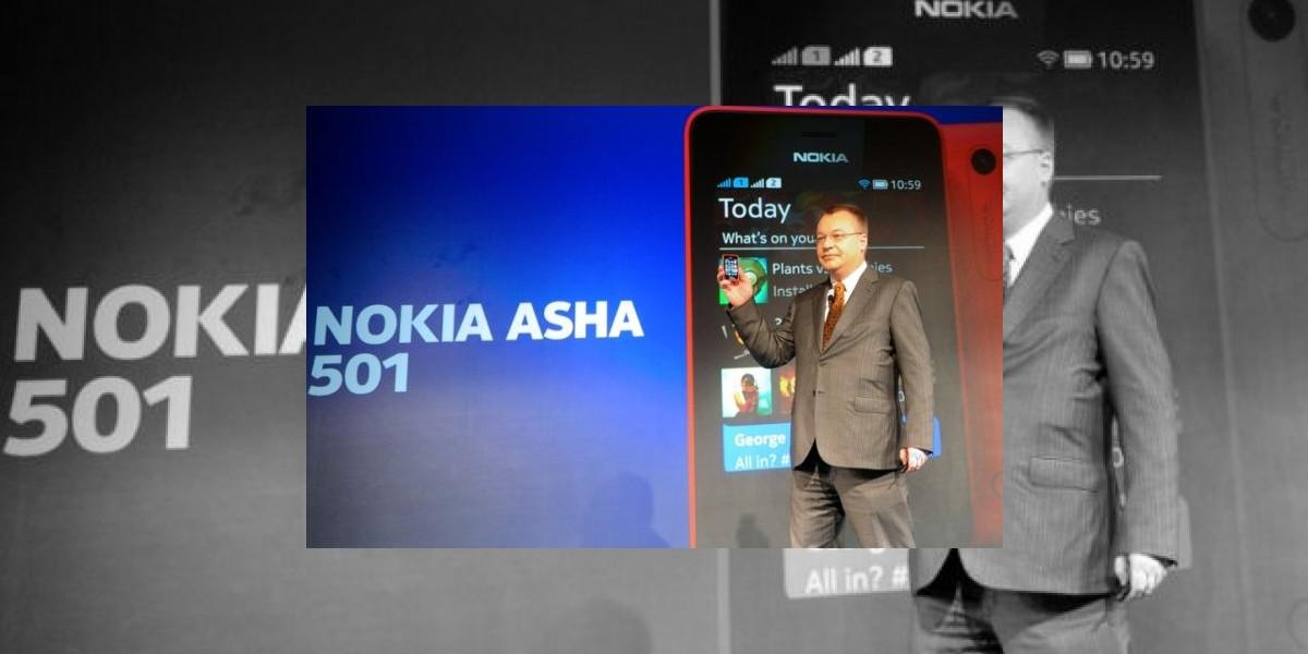 Nokia presenta su Asha 501 el smartphone de bajo costo para mercados emergentes