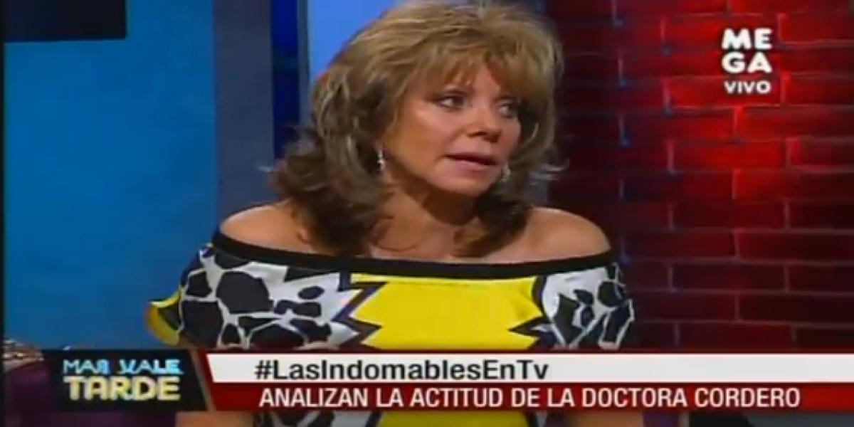 Raquel Argandoña se refiere a Martín Cárcamo con particular apodo