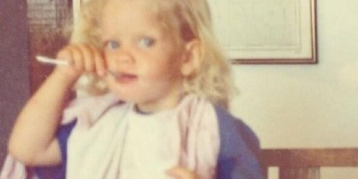 Así era yo cuando niño: Javiera Acevedo