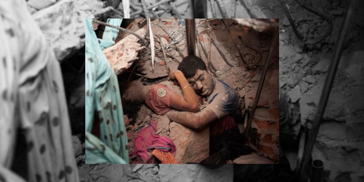 Revista Time difunde la foto más triste que dejó tragedia en Bangladesh