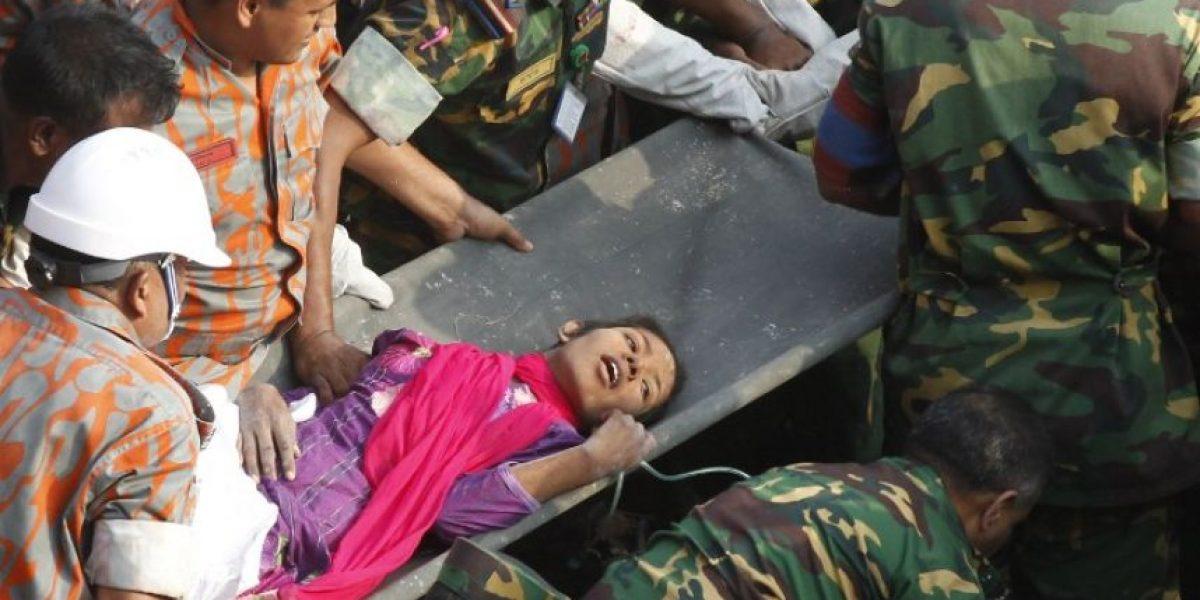 [FOTOS] Milagro en Bangladesh: Tras 17 días del derrumbe encuentran a una sobreviviente